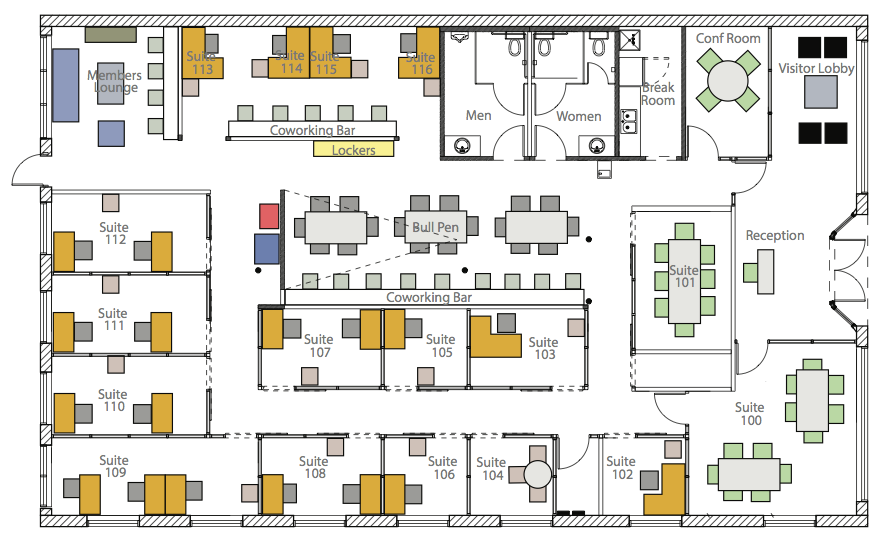 Berthold Building  Office Layout