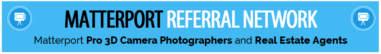 We Get Around Referral Network of Matterport Pro 3D Camera Photographers and Real Estate Agents