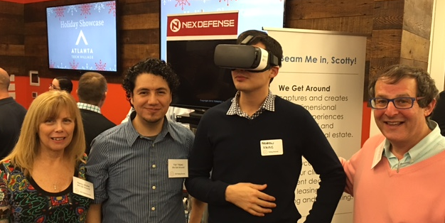 Pictured without Gear VR: We Get Around Business Development Executive Nancy Butler, Associate Photographer and Architect Yair Yépez and Founder, CEO and Chief Photographer Dan Smigrod