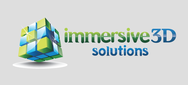 Immersive 3D Solutions-Logo