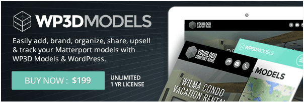 WP3D Models Banner Ad Example