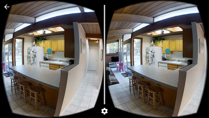 Matterport VR Side-bv-Side View