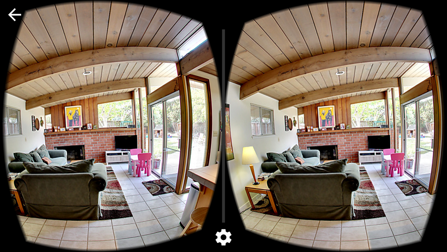 Realvision VR Side-by-Side View