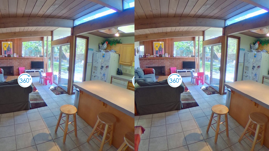 immoviewer VR Side-by-Side View