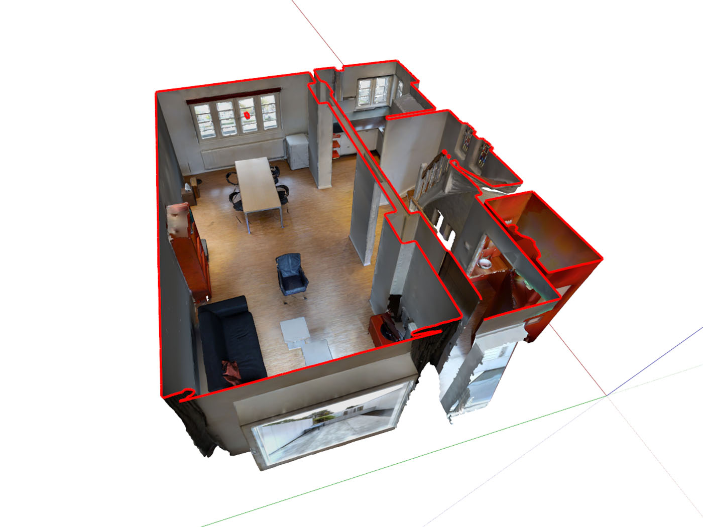 OBJ to SKP - If all you want to do is stage an empty property that you scanned – with some virtual furniture – a simple and cost efficient Matterport File (.OBJ) to Sketchup File (.SKP) conversion might be exactly what you need.After sending InventiveCG the OBJ file, you'll be able to place the furniture from the online library inside your Sketchup model, within one business day.See an example InventiveCG Matterport Object File to SketchUp File Conversion here.