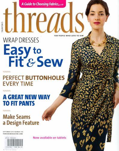 Christine Jonson Wrap Dress Threads Magazine