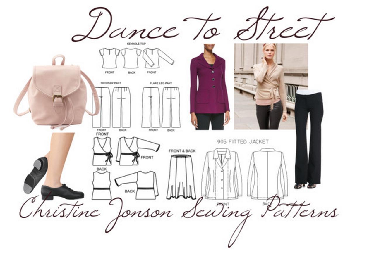 DIY Dance wrap top and boot cut dance pants