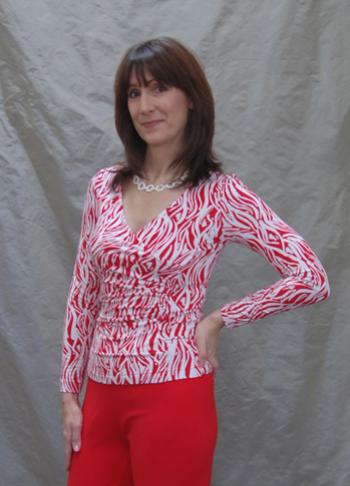 Christine Jonson Patterns Princess Wrap Top
