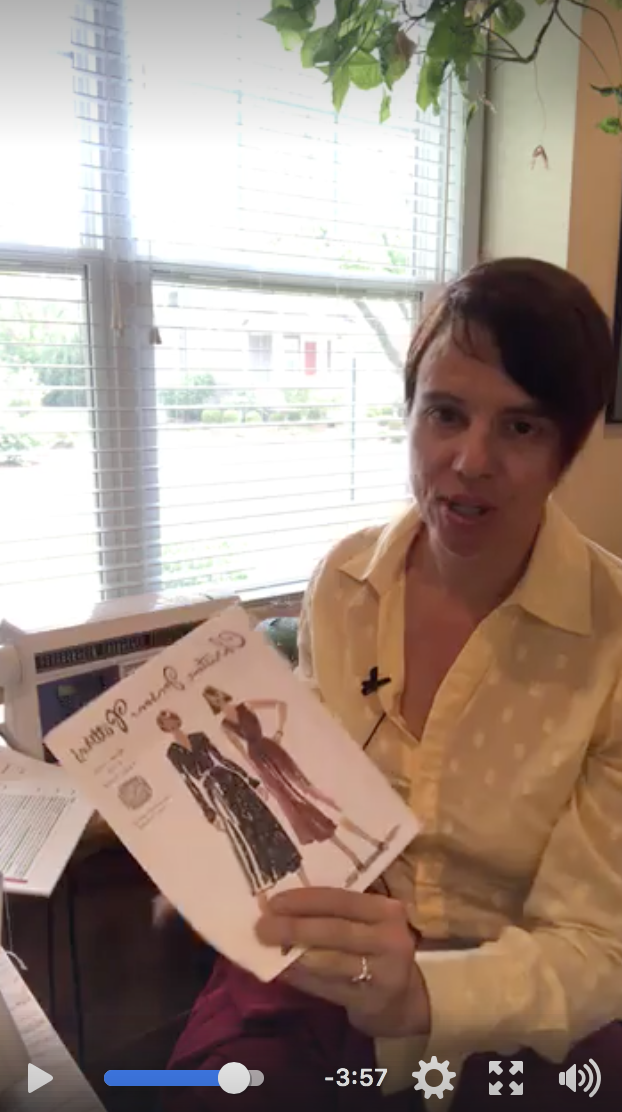 Sew Along Video #1 - Click on the video image to access this video in our private Facebook group!