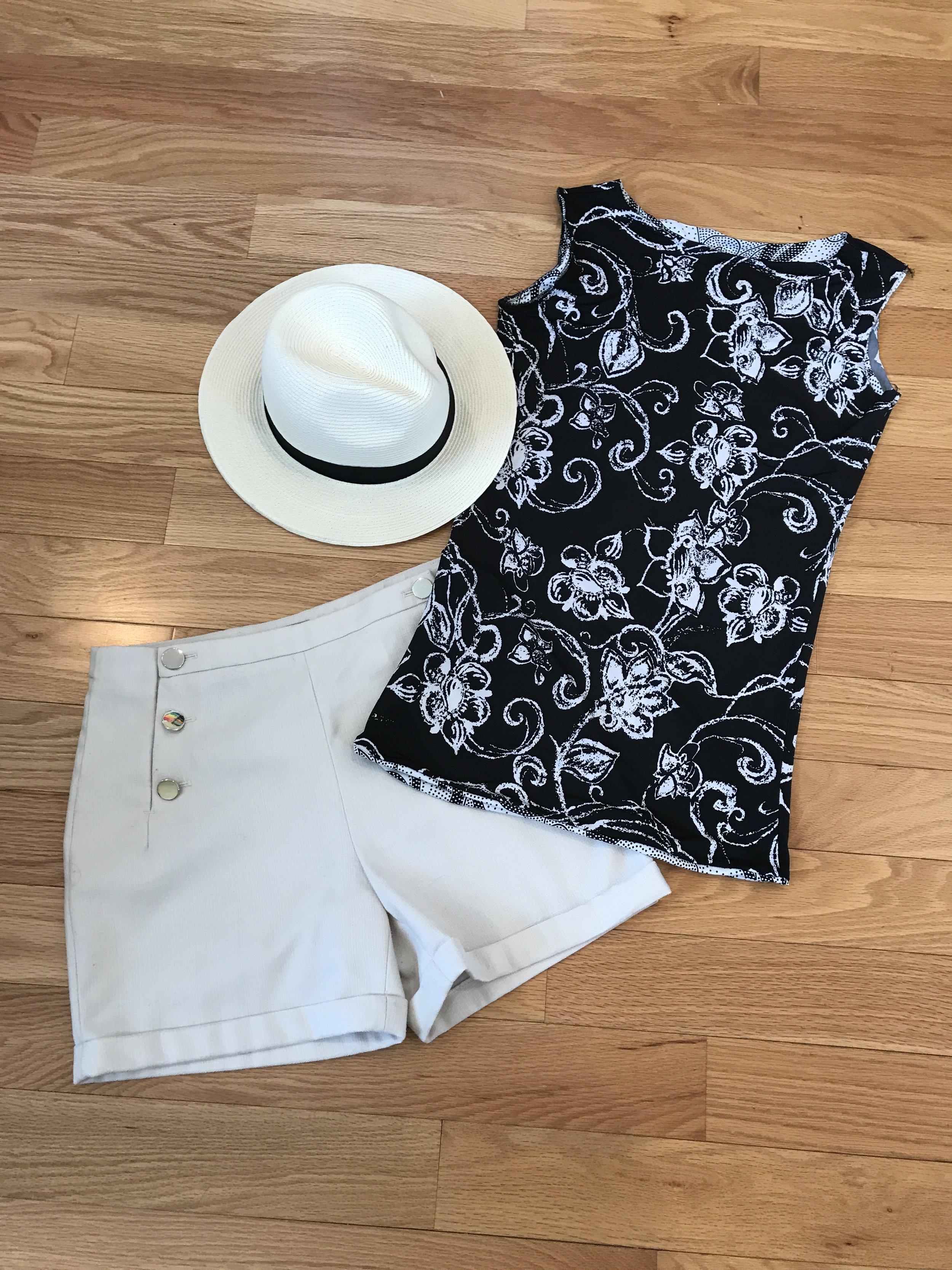 Sewing a Spring Break Capsule Wardrobe with Christine Jonson Patterns   tee shirts