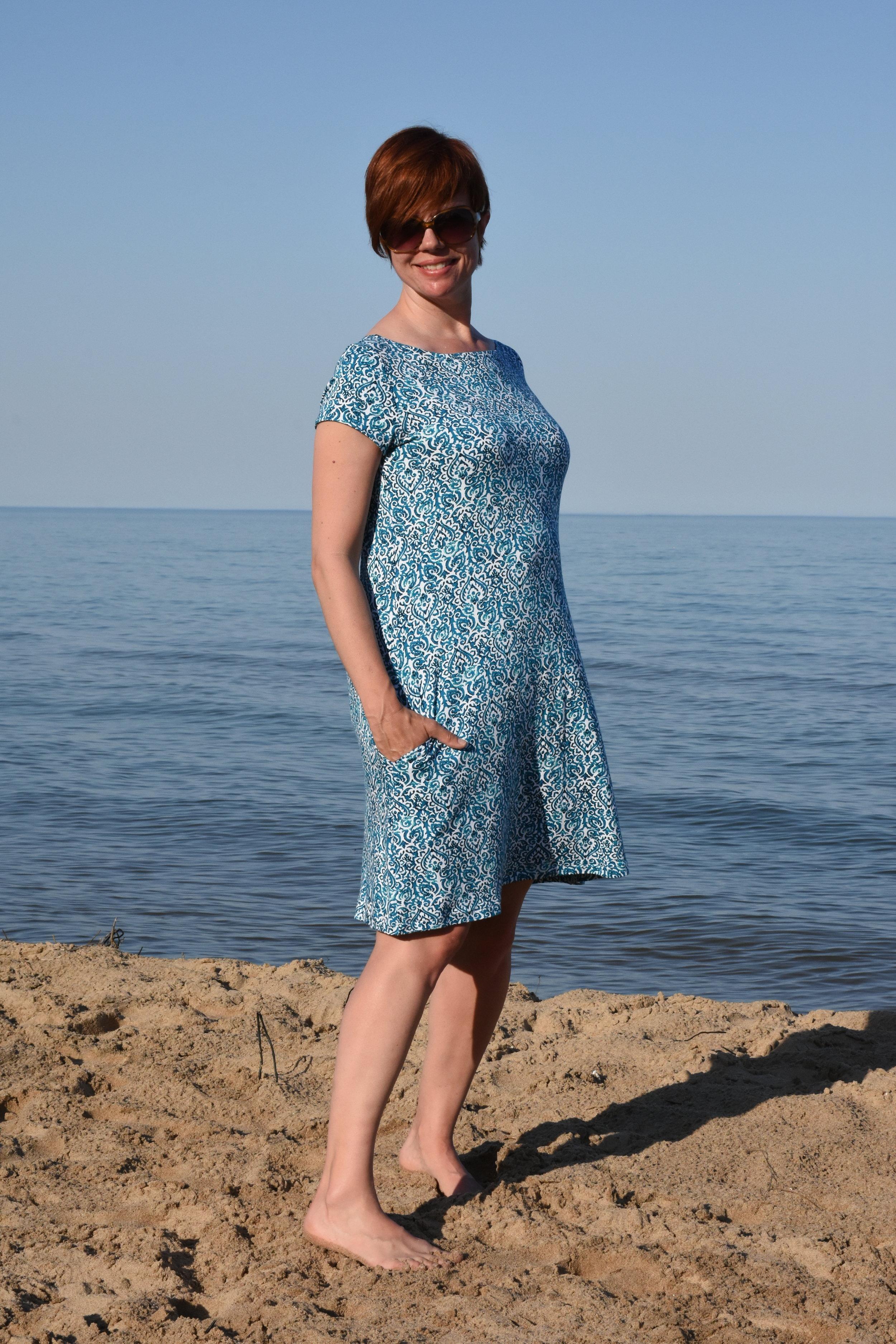 Christine Jonson Sewing Patterns Take Along Dress