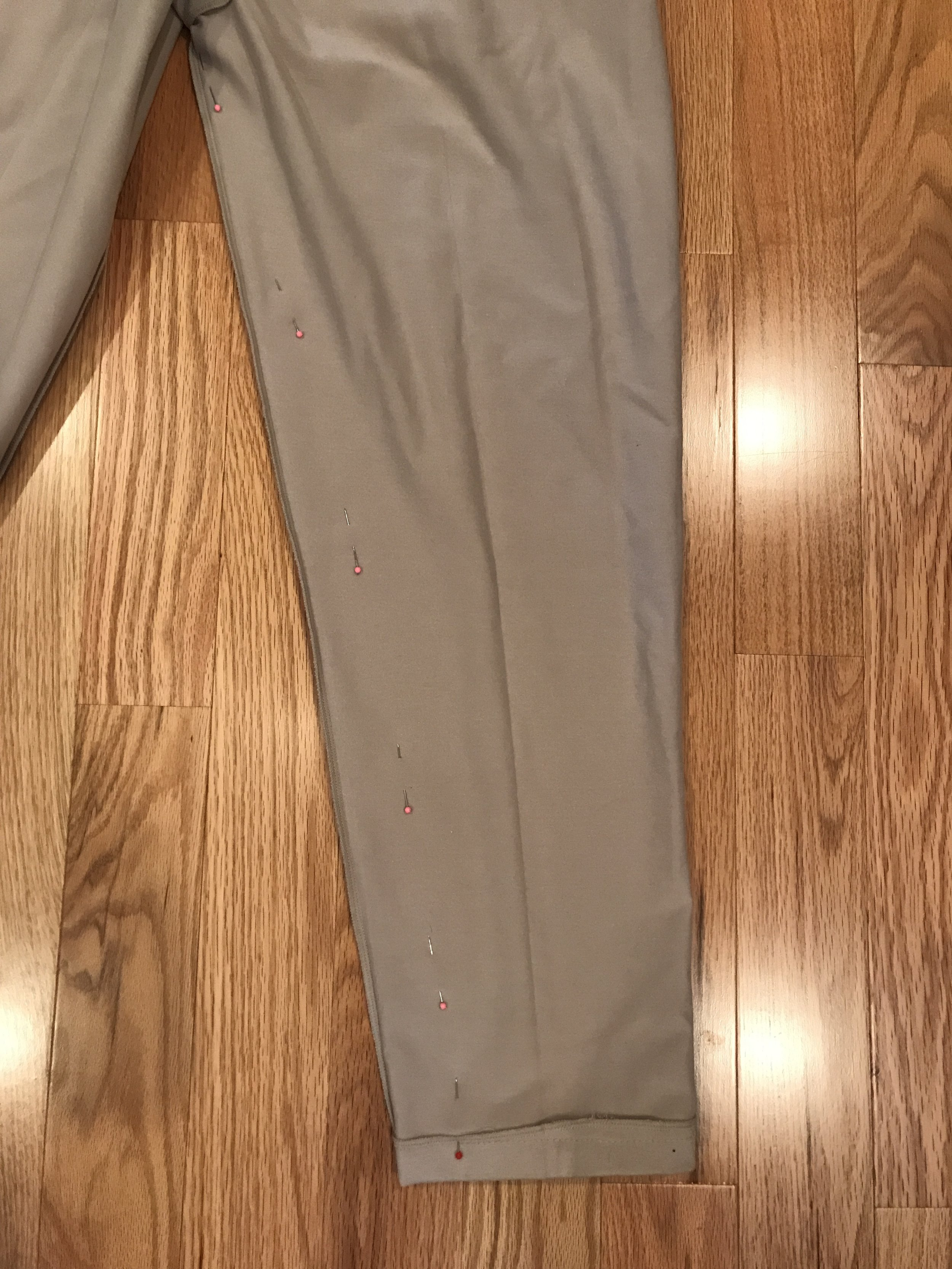 Making the Cuff Pant into Joggers