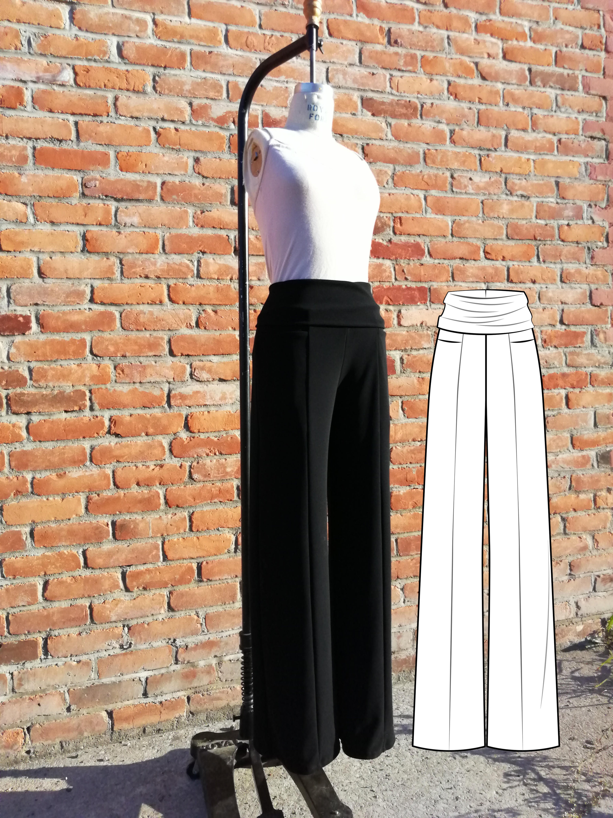 Perfect Pant Collection Ready to Wear Knit Dress Pants Yoga Pants