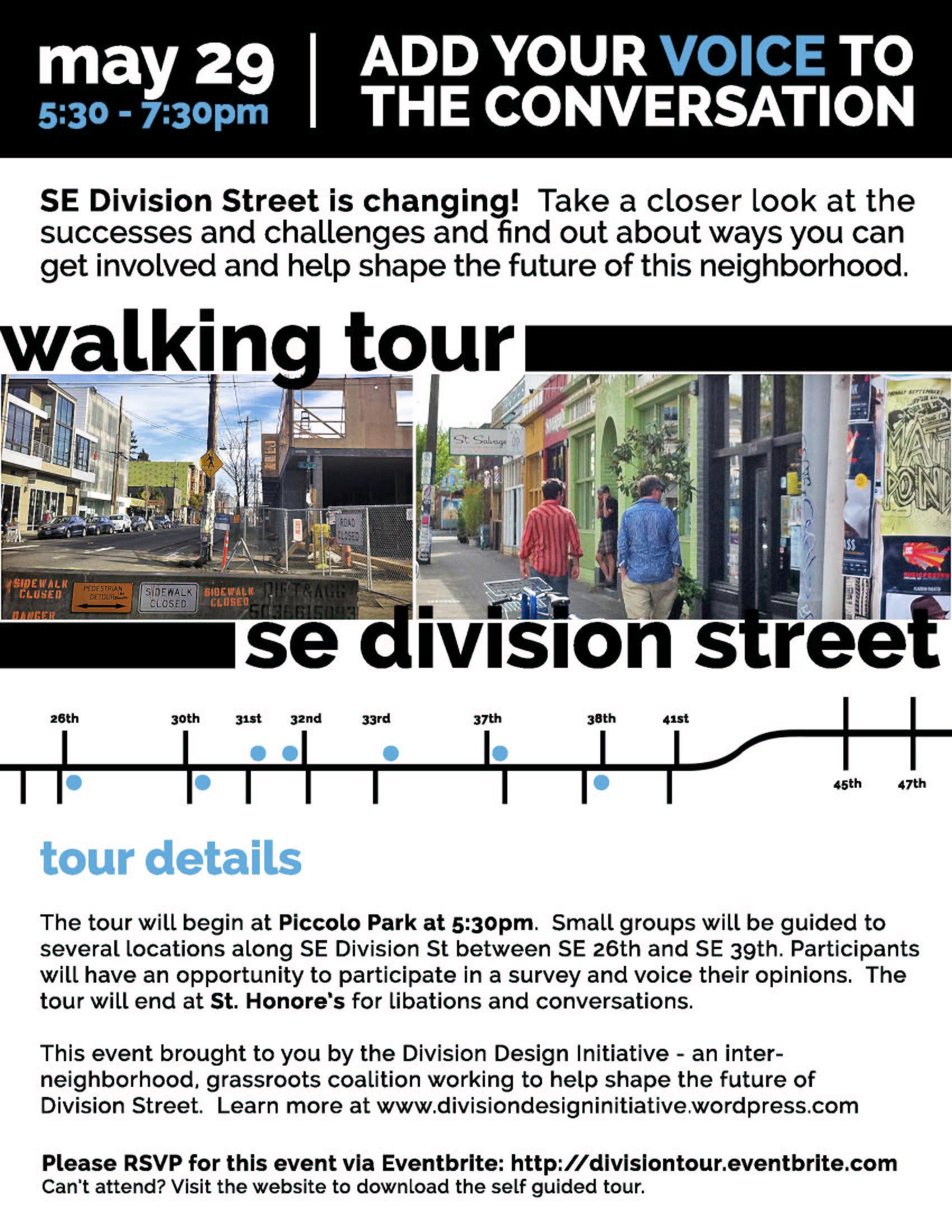 DDI Walking Tour Flyer
