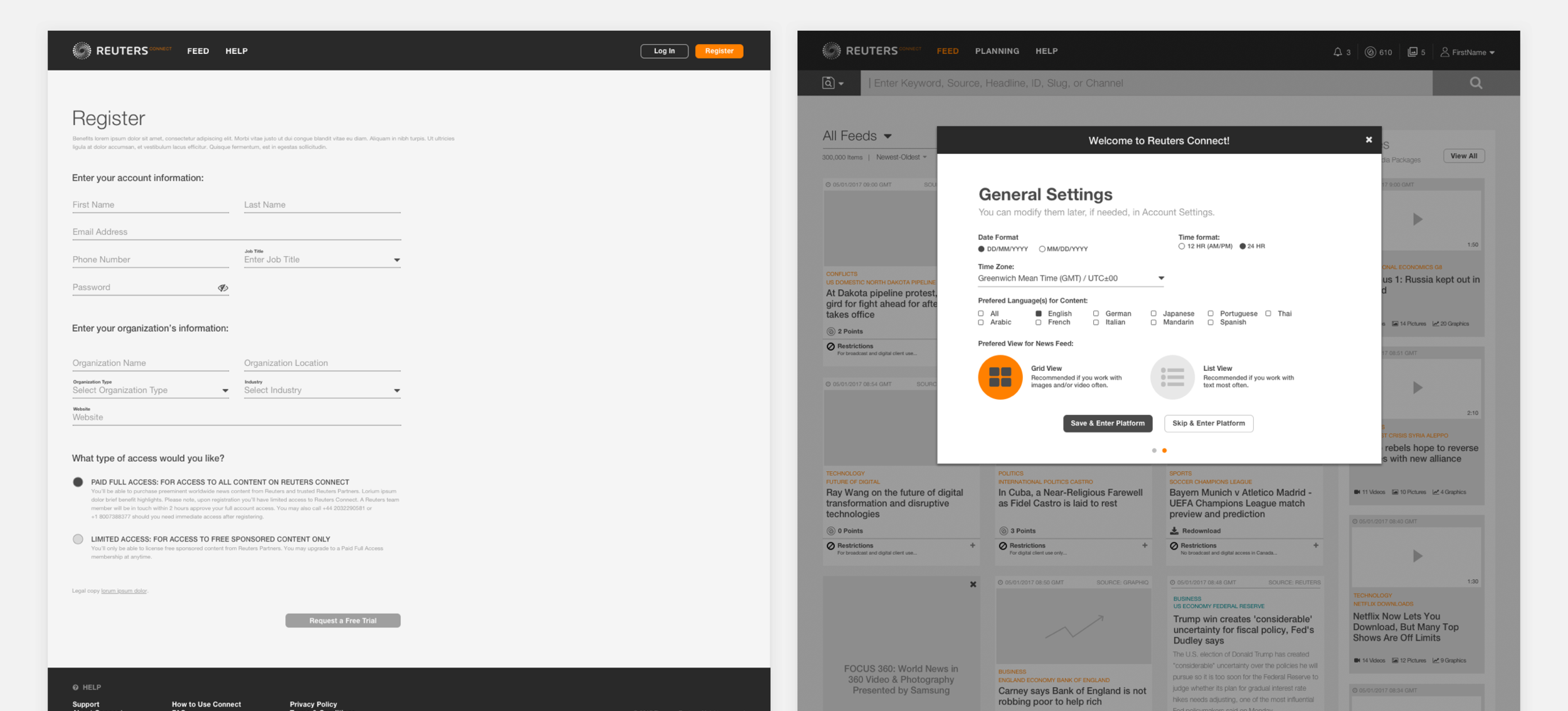 Reuters - Wireframes - Registration and OnBoarding.png