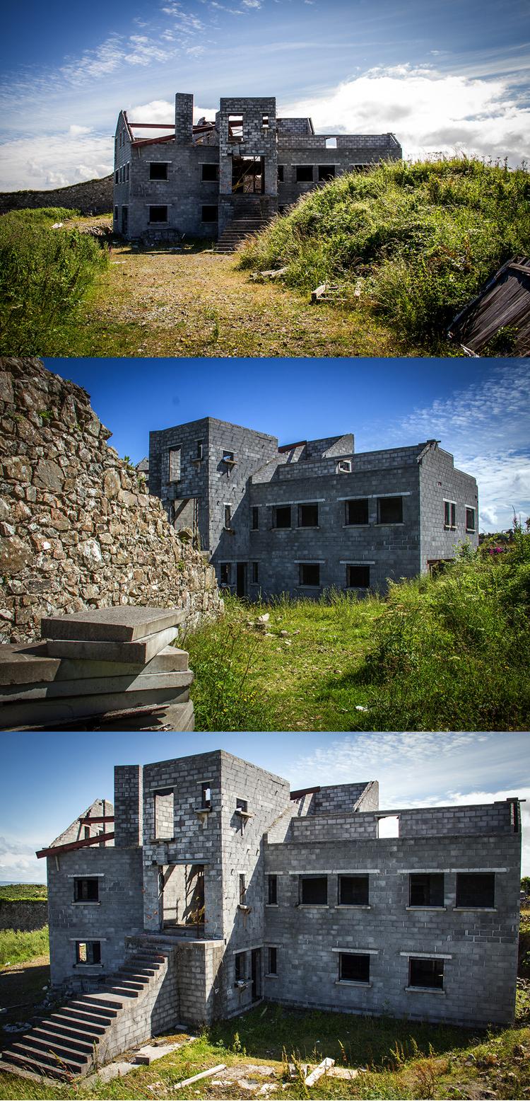Abondoned building in Connemara