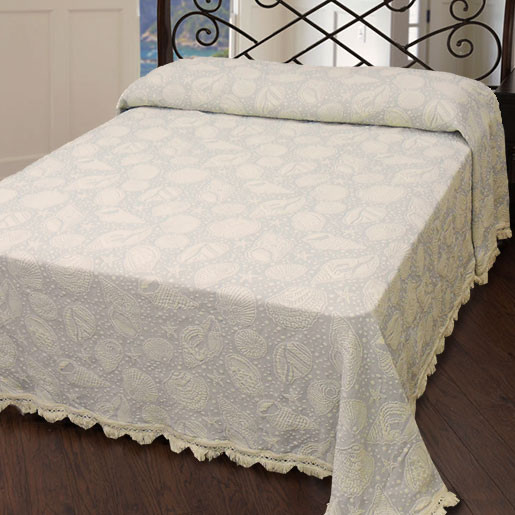Seashell Bedspread (Click Image to Enlarge)