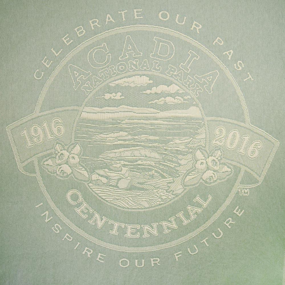 Acadia National Park Centennial Throw Design (  Click Image to Enlarge)