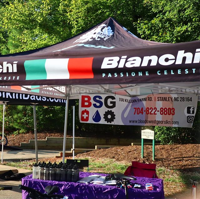 Stop by Poston Park for the @redbullpumptrackworlds and bike fest! #bianchi #easternbikes @eastern_bikes #goodtimes #bsglkn