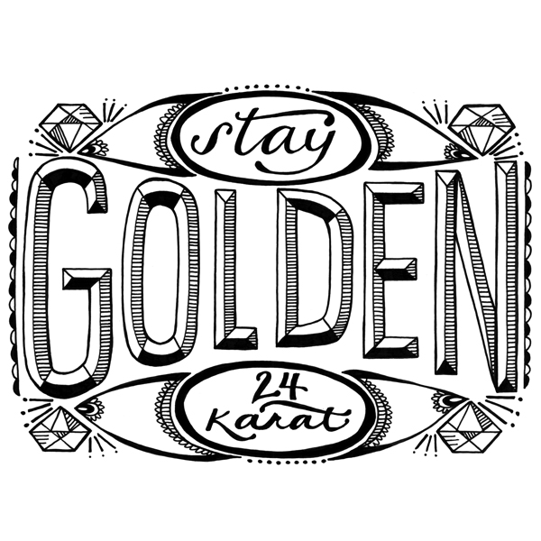 stay golden.