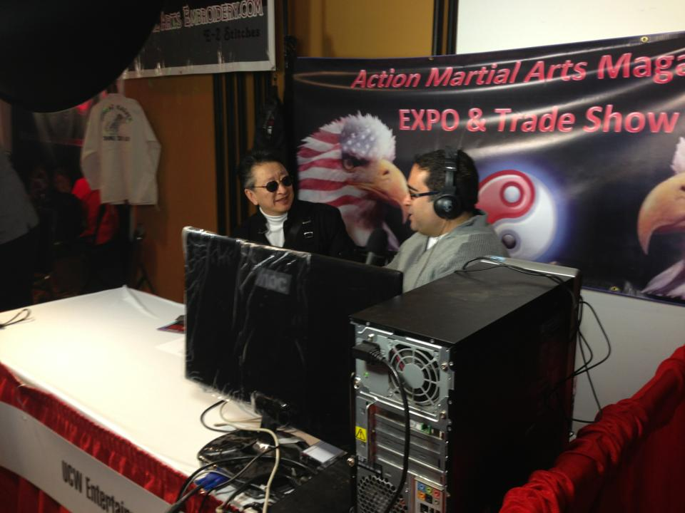 Sifu during a radio interview