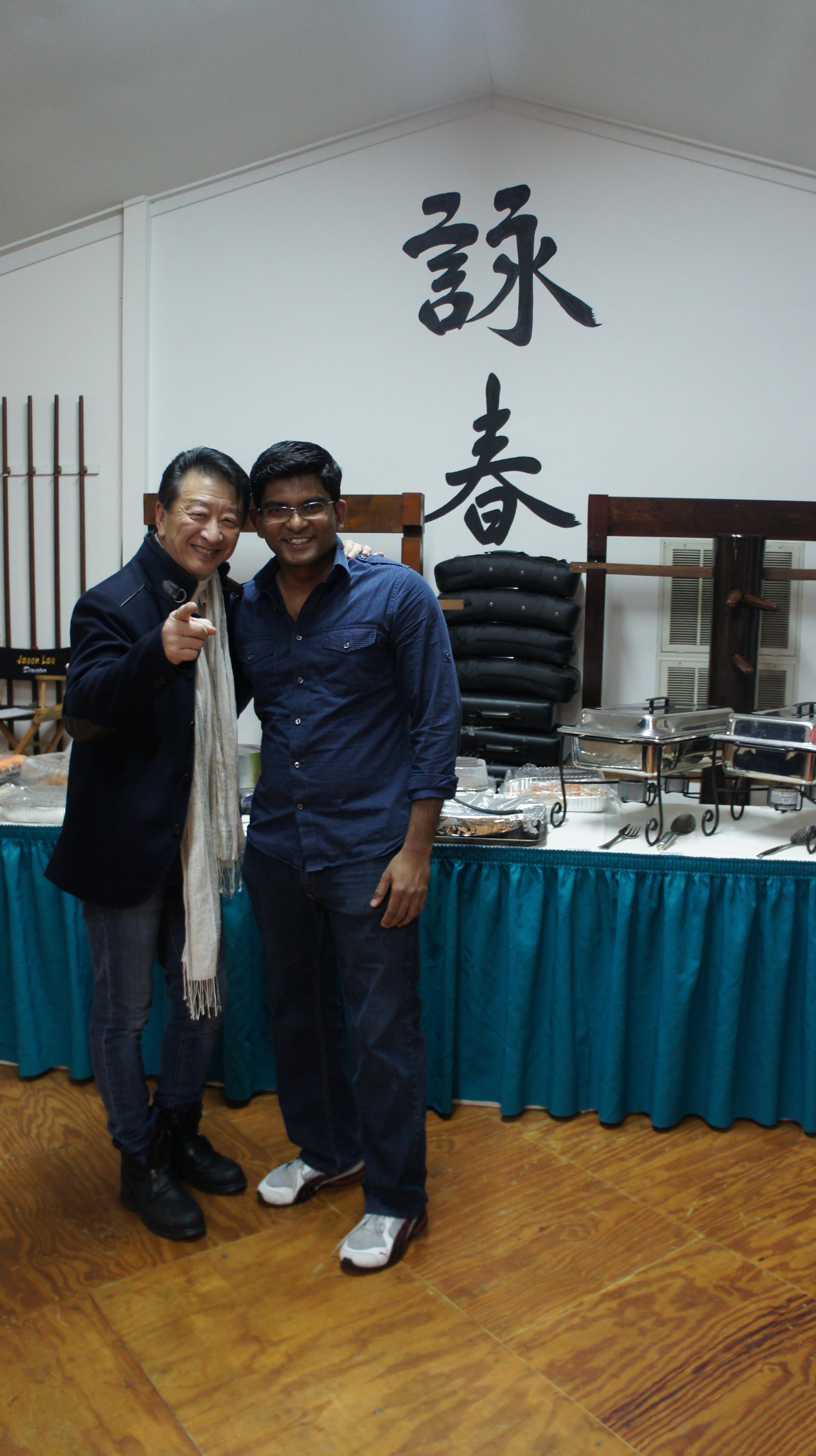 Christopher with Sifu