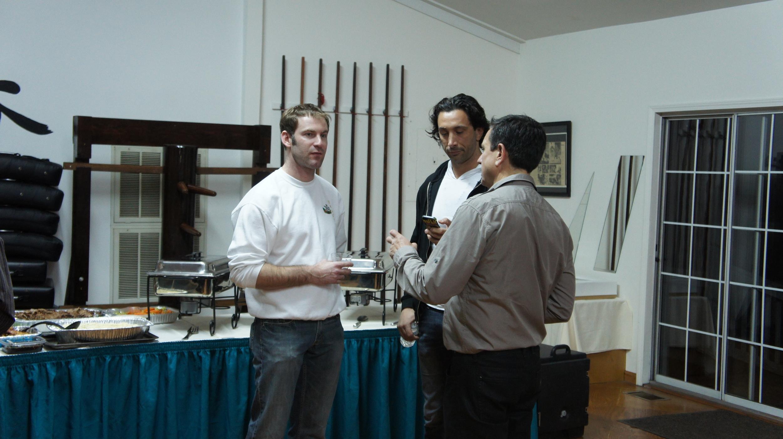 Sihings Zeljko, Andrea, and Gordon