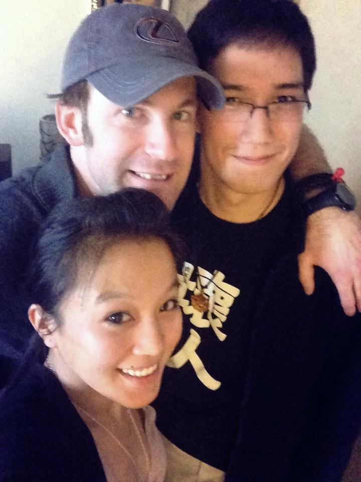 Roomies: Zeljko, Philip and Jessica