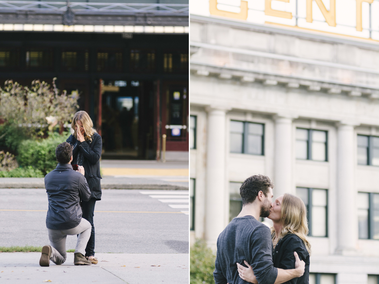 Shot my first  proposal .