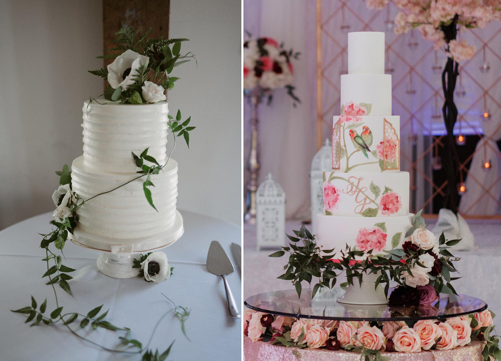 Left: Daring Wanderer Weddings Photography - Right: Beautiful Life Studios