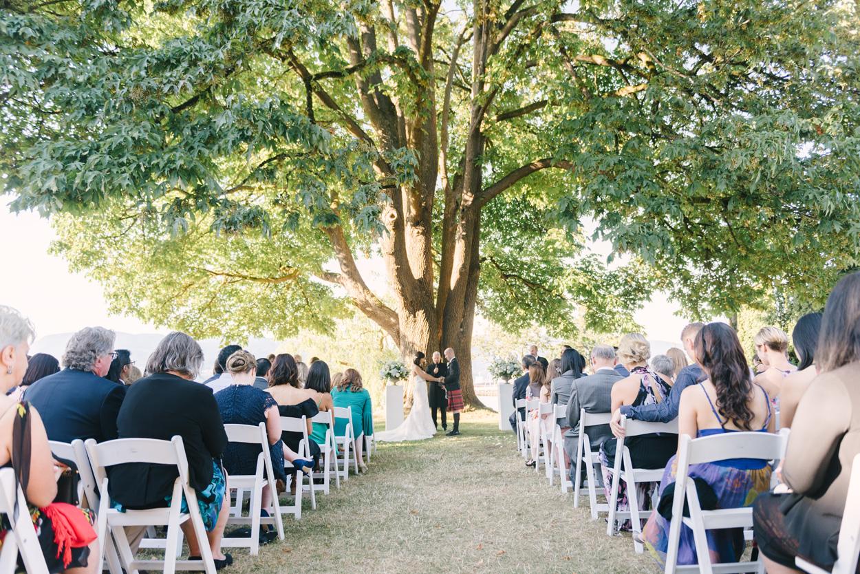 Brock house ceremony