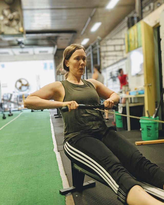 It's been busy at RCTF. New big things happening, new members, all great things. Change can be challenging but the #rctftribe is growing up and doing big things! We're just gonna keep moving forward 😊 (pictured: @palmgrenacu doing some early morning moving on the rower 💪)
