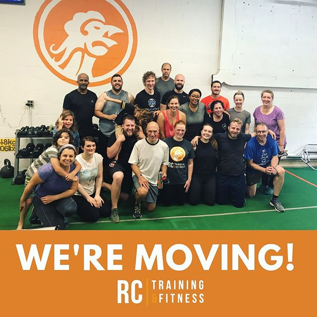 BIG THINGS ARE COMING! . . Thanks to everyone for all the love and support over the years. We're so excited to announce we're moving to a new location in the #oakparkil area. More details to come! #rctftribe