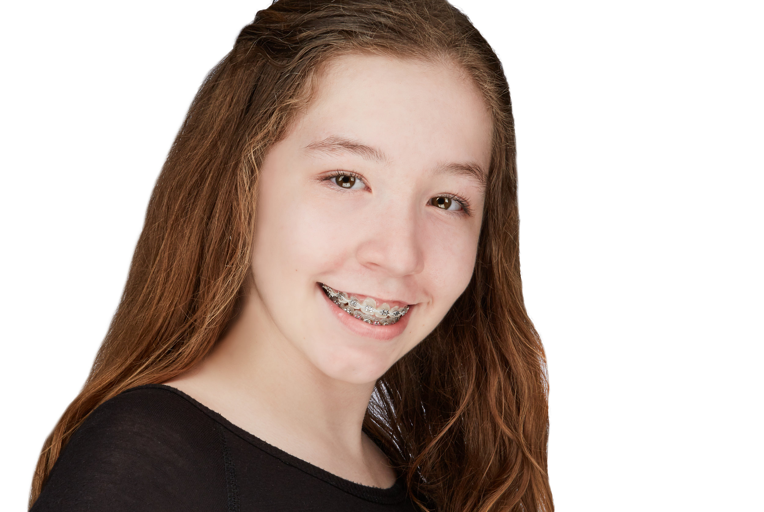 Bordentown Regional Middle School Drama Club Headshot for their production of Fame.