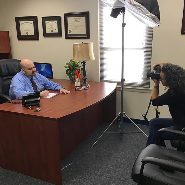 This #bts shot of me taking @dgreenenj picture was by @dwryan71. I was conducting a #personalbrandingphotography session as he had moved into his office location. Scroll down to see some of the final images. If you're interested in what I can do for you, DM me! Thanks! #ssdilawyersofnj #lawyer #lawyersofinstagram #brandingphotographer #nj #iso1200magazine #famousbtsmag