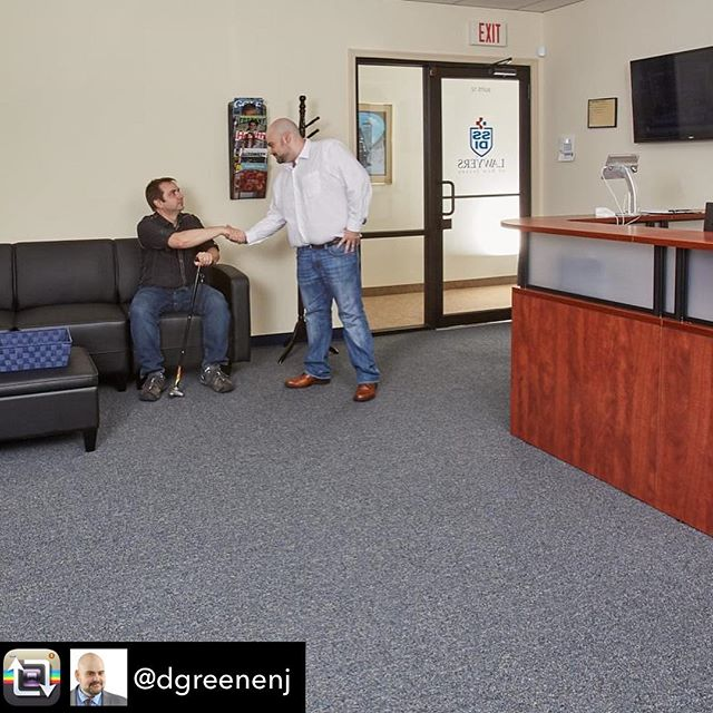 For @dgreenenj #personalbrandingphotography session, we wanted to show him with a client. Who better than my husband @dwryan71 who actually likes having his picture taken LOL #ssdilawyersofnj #lawoffice #lawyers #lawyersofinstagram #brandingphotographer #nj Repost from @dgreenenj using @RepostRegramApp