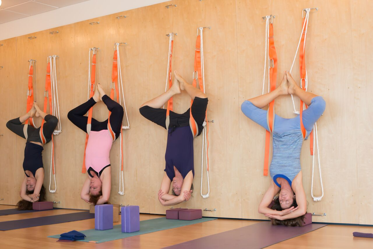 Yoga Wall Ropes & Slings Certification — Dhyana Yoga Arts