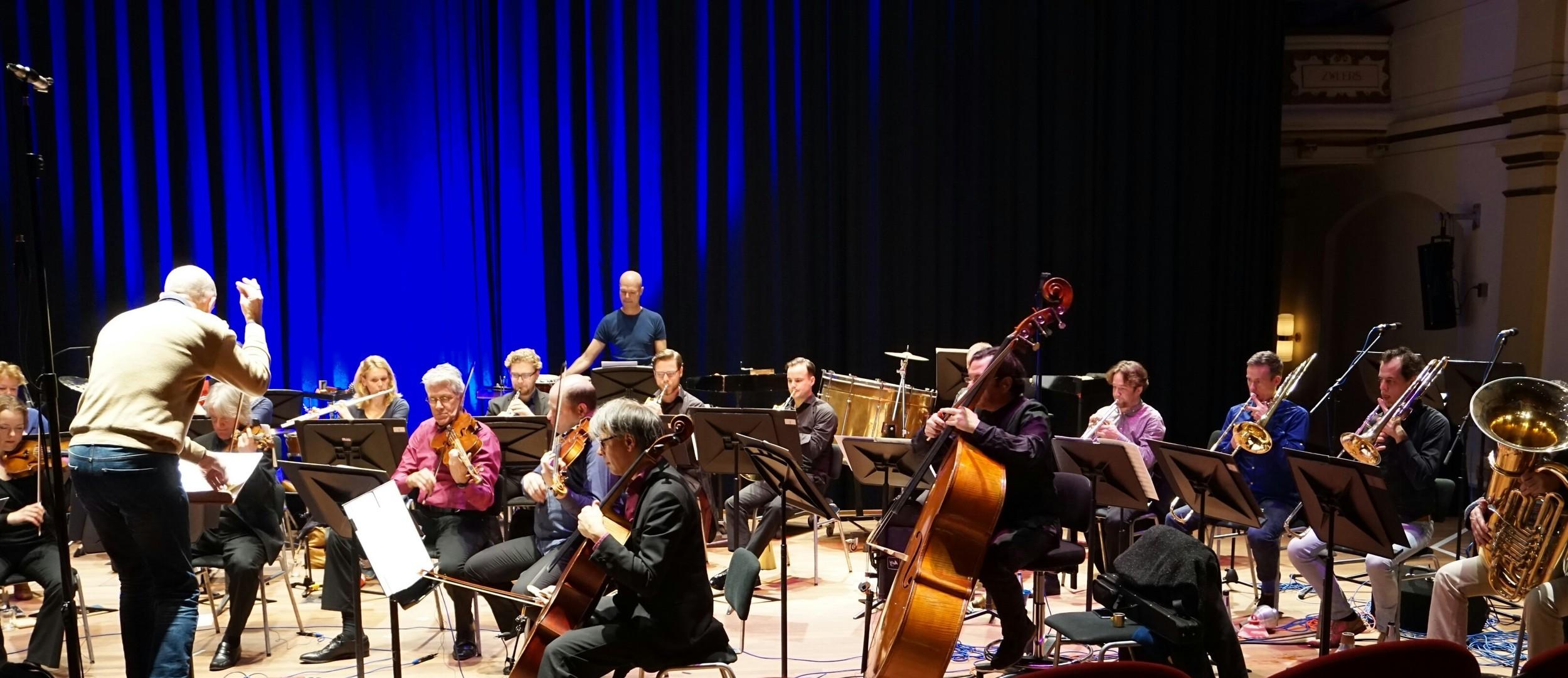 Dress rehearsal at Musis Sacrum, Arnhem.