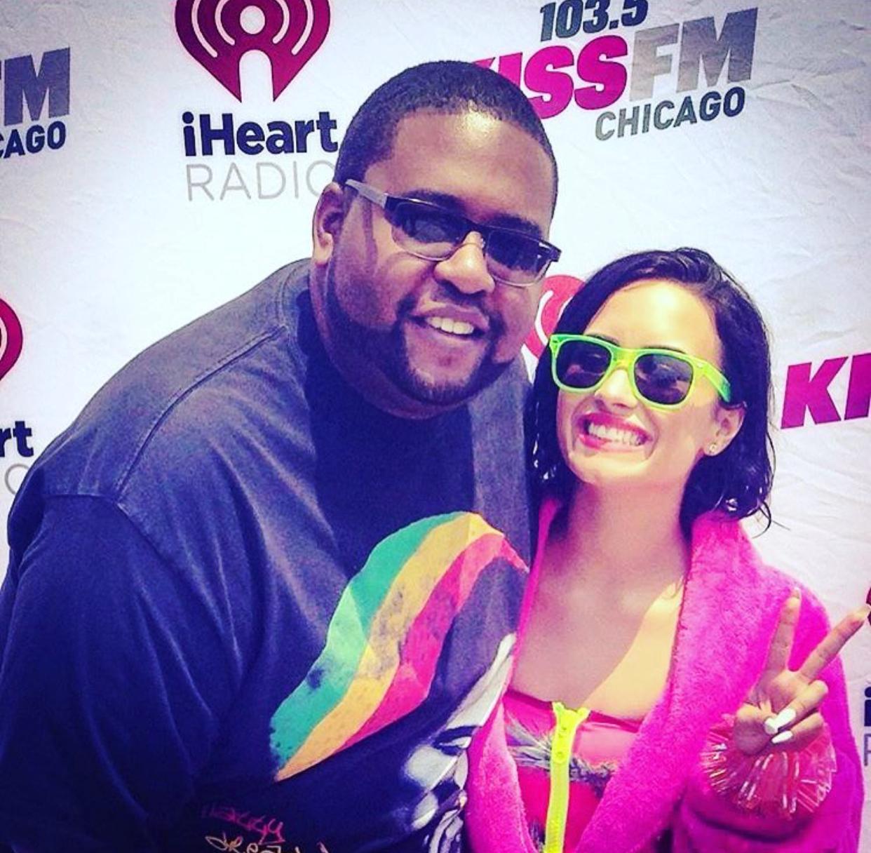 @iamdjheavy x Demi Lovato