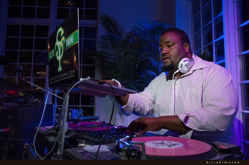 DJ Sye Young providing the soundtrack