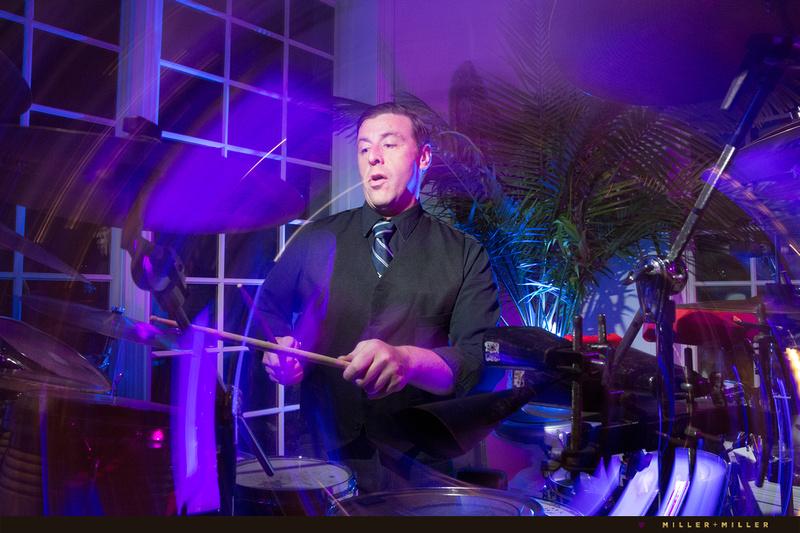 Drummer Rocky Roppo