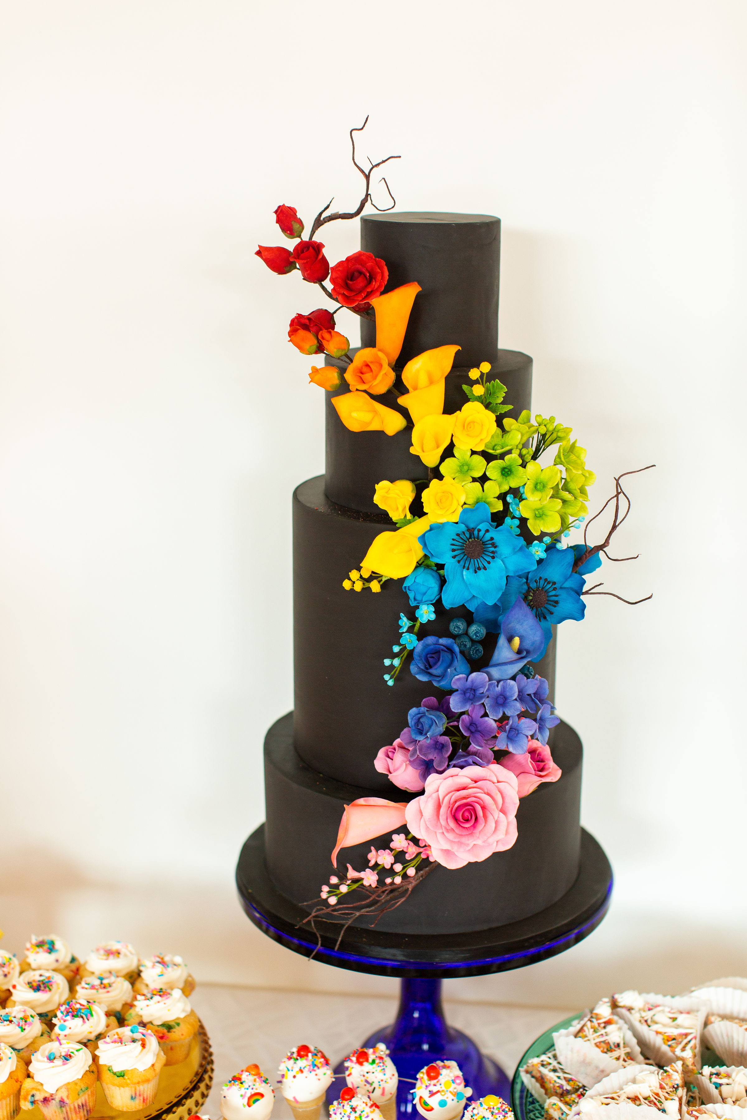 Photo by Alexandra Lee Photography, Cake by ECBG Cake Studio