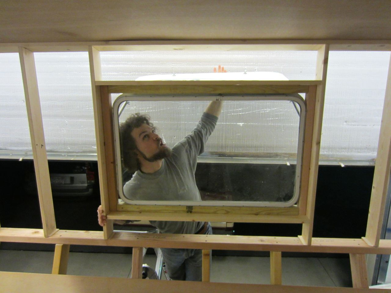 We have a new bedroom window!