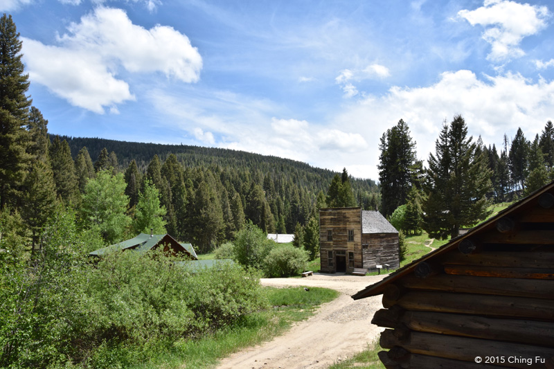 Garnet Ghost Town sits at 5,824 ft.