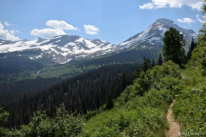 Mount Jackson and Jackson Glacier.