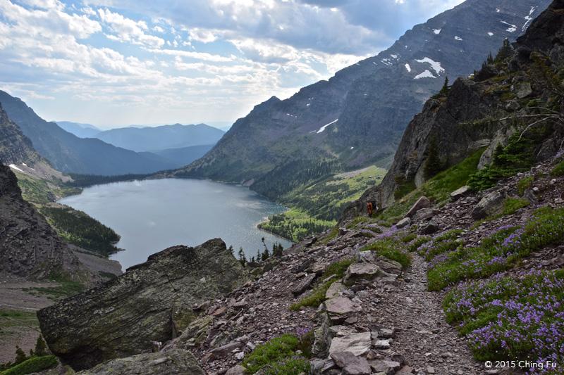 View of Lake Ellen Wilson