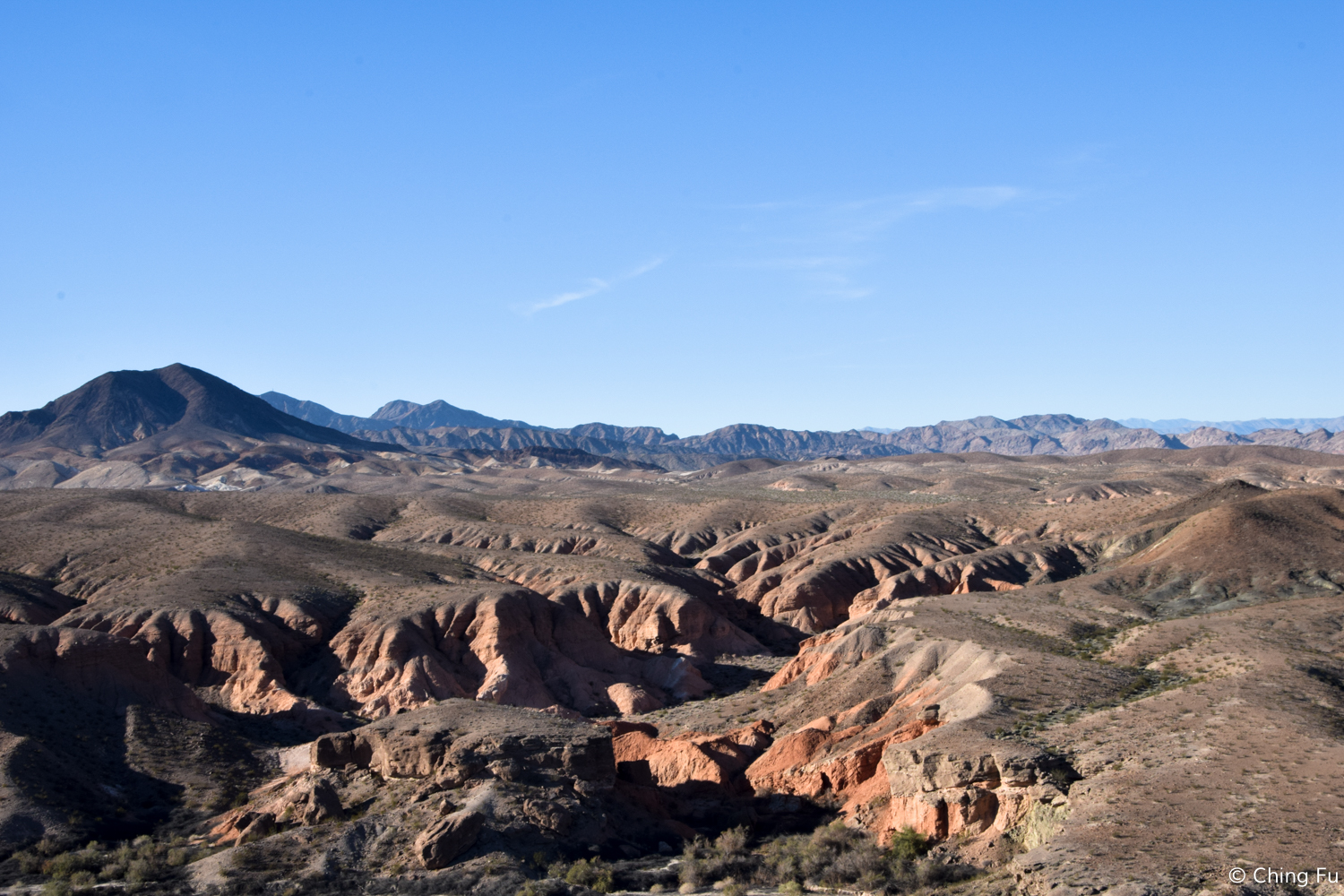 Looking out at Lake Mead National Recreation Area.