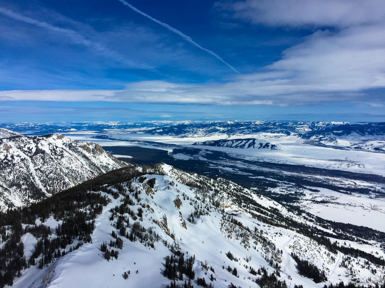 View from Jackson Hole Ski Resort
