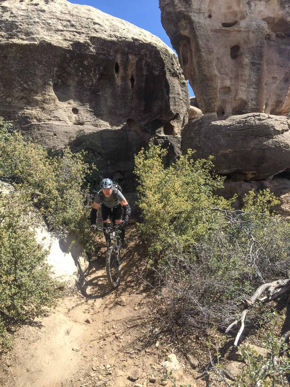 Karl on the Holy Gucamole trail.