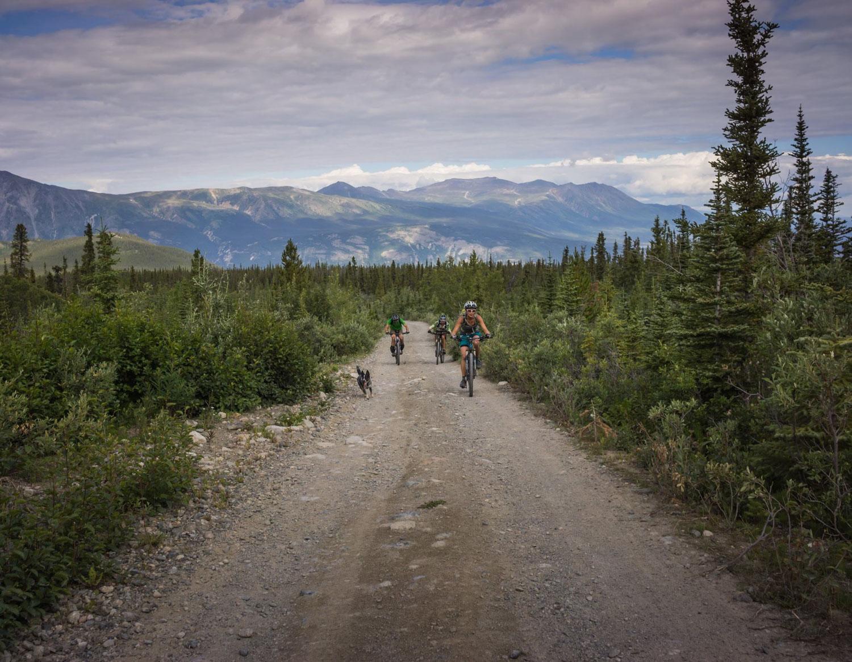 Riding Montana Mountain in Carcross, Yukon. Photo by Jason Liske.